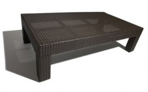 Strathwood Camano All-Weather Wicker Coffee Table