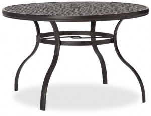 Strathwood Whidbey Cast-Aluminum Round Dining Table