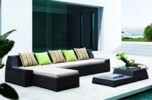 Lexington Modern Traverse 4 Piece Outdoor Set