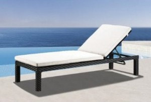 Impulses Wicker Furniture Outdoor Patio Chaise Lounge Chair : poolside chaise lounge chairs - Sectionals, Sofas & Couches