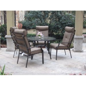 5pc Ravello Outdoor Patio Dining Set - %68 Discount deal!