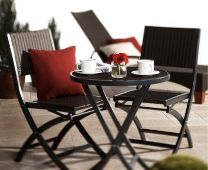 Strathwood Ritta All-Weather Wicker 3-Piece Bistro Set - Best Affordable 3-Piece Patio Furniture Sets You Can Buy - Discount