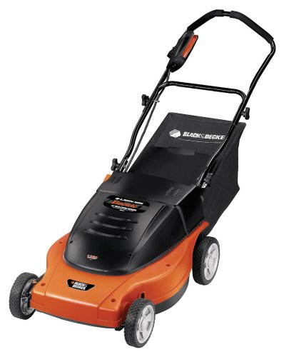 Black & Decker MM875 Lawn Hog 19-Inch 12 amp Electric Mulching Mower with Rear Bag