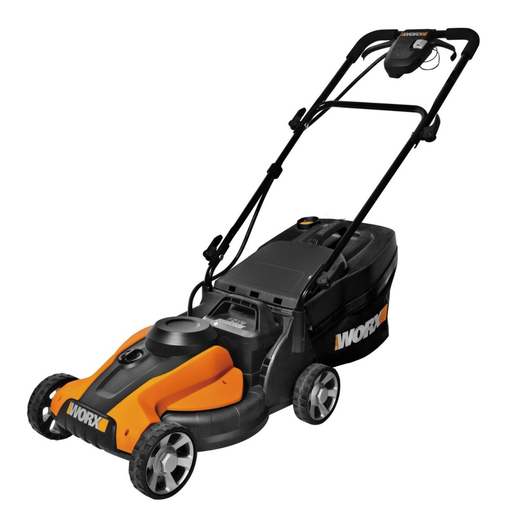 worx 14 in. IntelliCut Cordless Lawn Mower