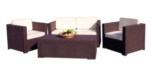 Atlantic Riviera 4-Piece Conversation Set by Keter
