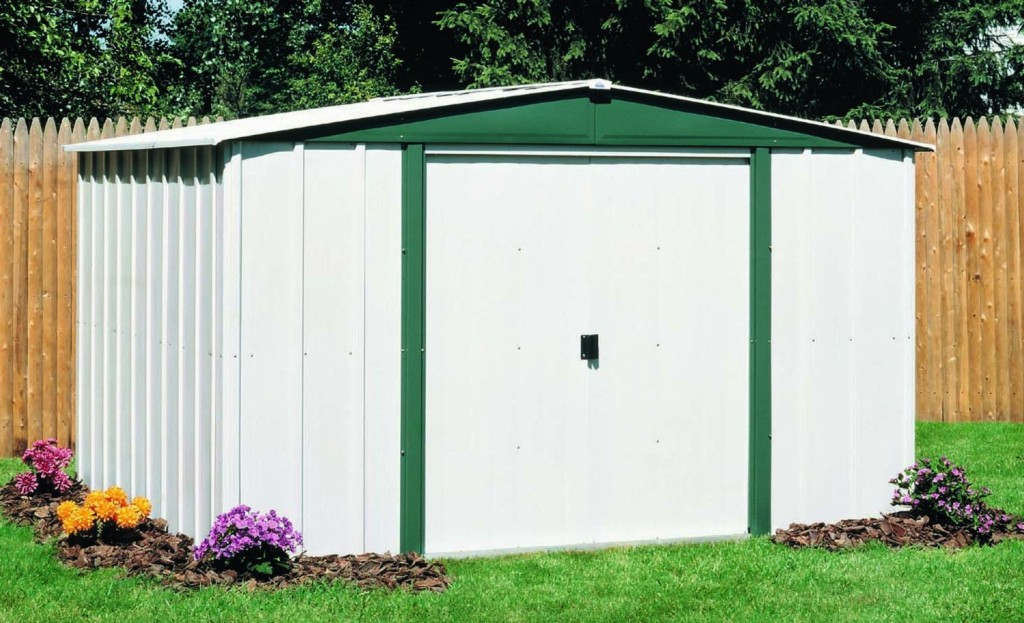Arrow Shed HM65-A Hamlet 6-Feet by 5-Feet Steel Storage Shed