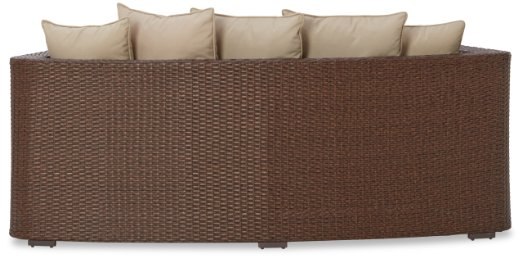 Strathwood Griffen All-Weather Wicker Curved Loveseat with Ottoman2_