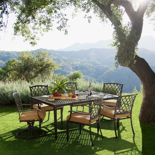 Strathwood Whidbey 7 Piece Outdoor Dining Set