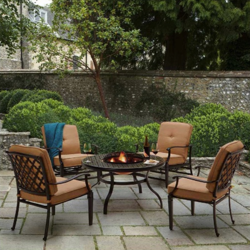 Strathwood Whidbey Cast-Aluminum Furniture