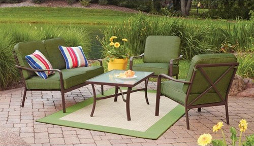 Crossman 4 Piece Patio Conversation Set
